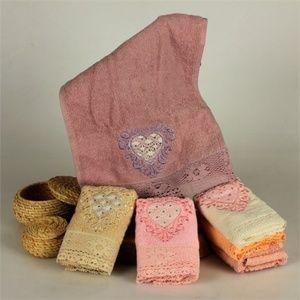 Turkish Towel Sets, Bamboo & Cotton Blend 6 Pieces
